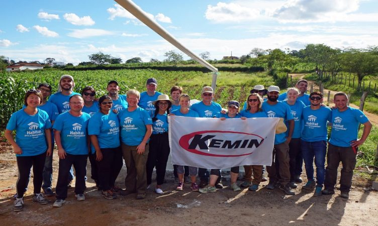 Kemin Employees Volunteering in Nepal
